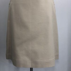 Banana Republic Womens Skirt Size 2 Kahky Stretch